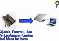 perkembangan laptop dari masa ke masa
