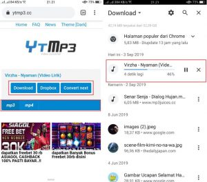 cara download lagu mp3 terbaru dari youtube