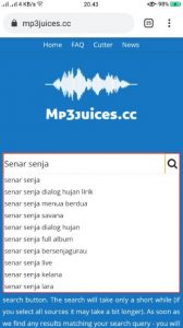 cara download lagu mp3 terbaru di browser