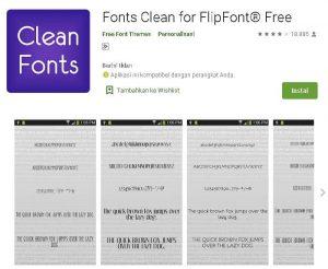 aplikasi font ukuran kecil