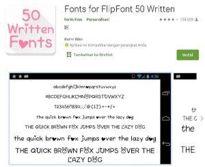 aplikasi font untuk semua merk hp