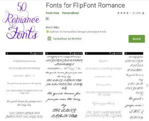 aplikasi font hp samsung