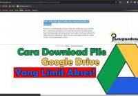 google drive yang limit akses