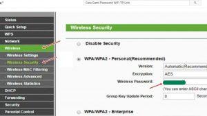 cara ganti password wifi indihome tp-link