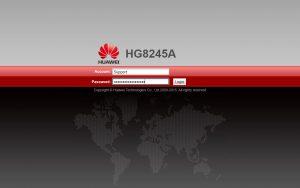 login modem huawei